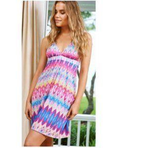NWOT PilyQ Moorea Parker Dress